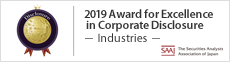 2019 Award for Excellence in Corporate Disclosure