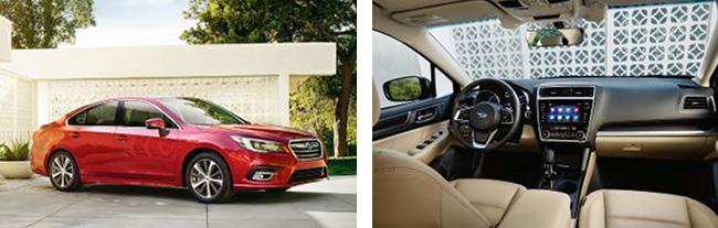 2018 Subaru Legacy (US specs.)