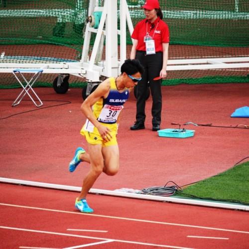 2018日本選手権上村1500mスタート前①