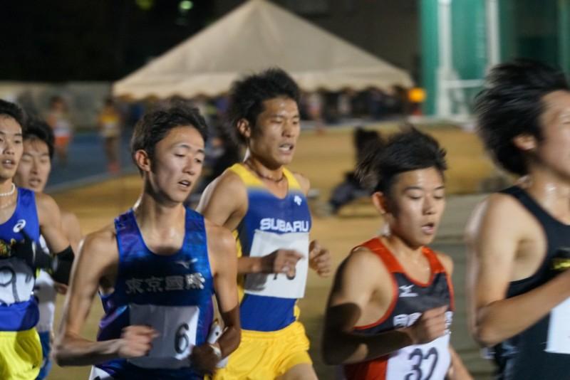 201812日体大10000m高本①